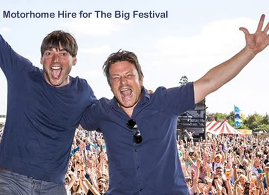 Motorhome Hire The Big Festival