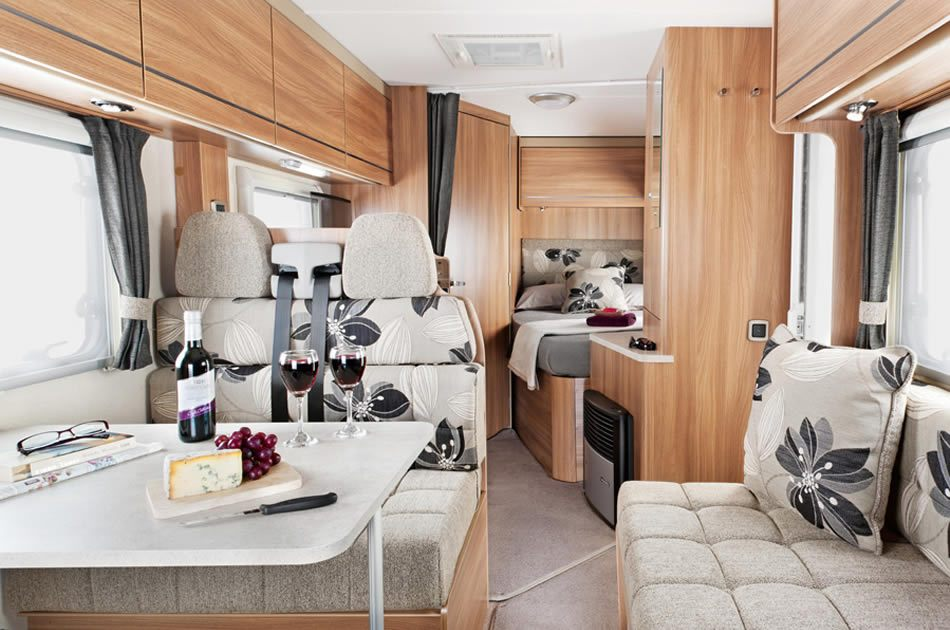 2-4 Berth Interior View