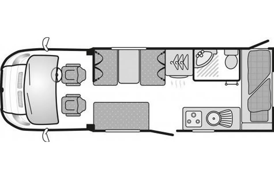 4-6 Day Floor Plan